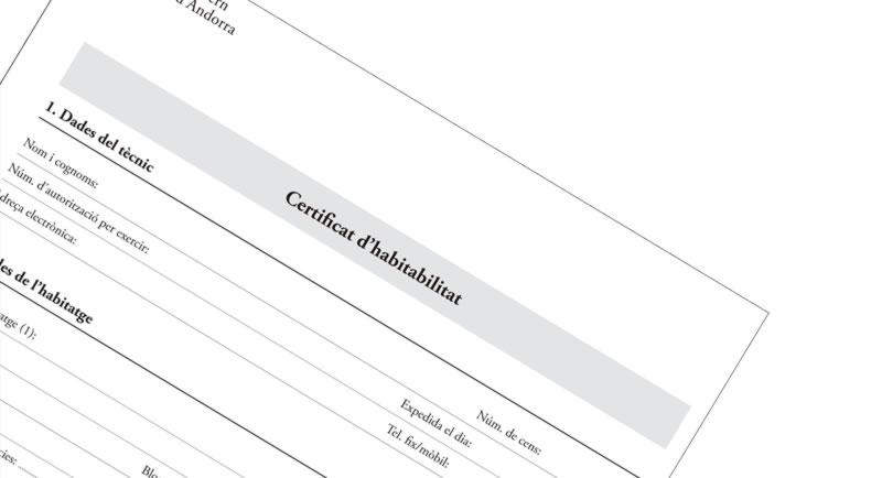 Certificat d'Habitabilitat