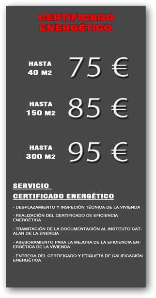 Certificado Eficiencia Energético